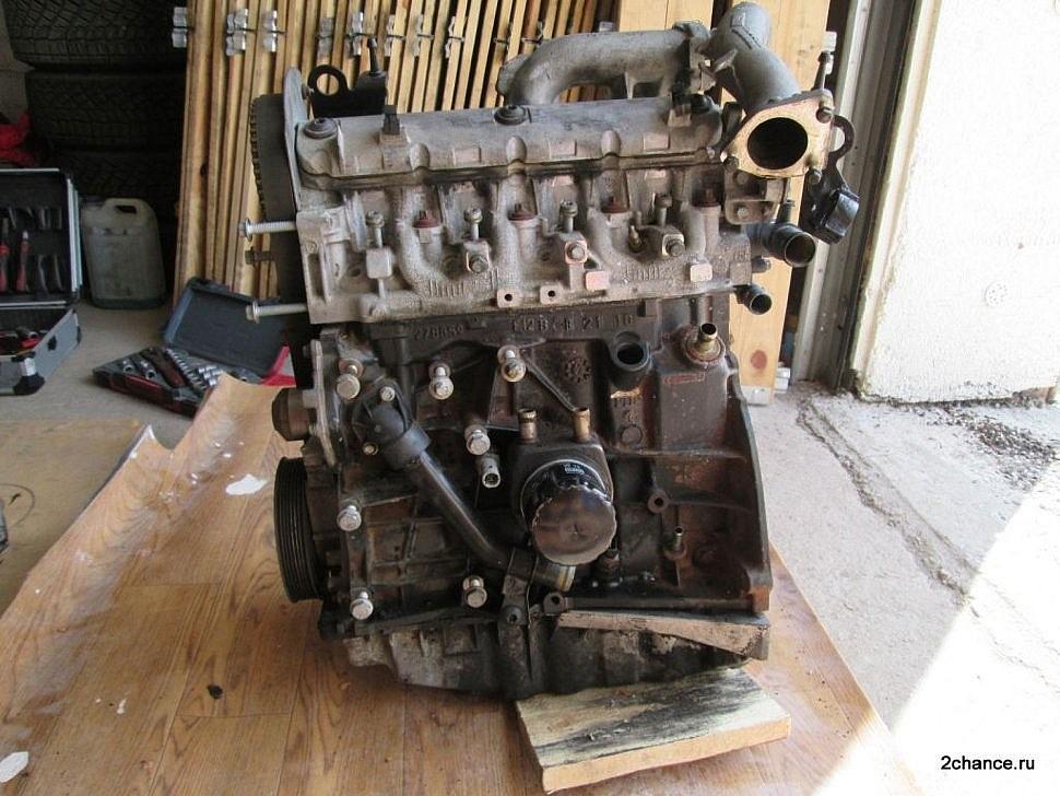Двигатель F9Q Рено Меган 2