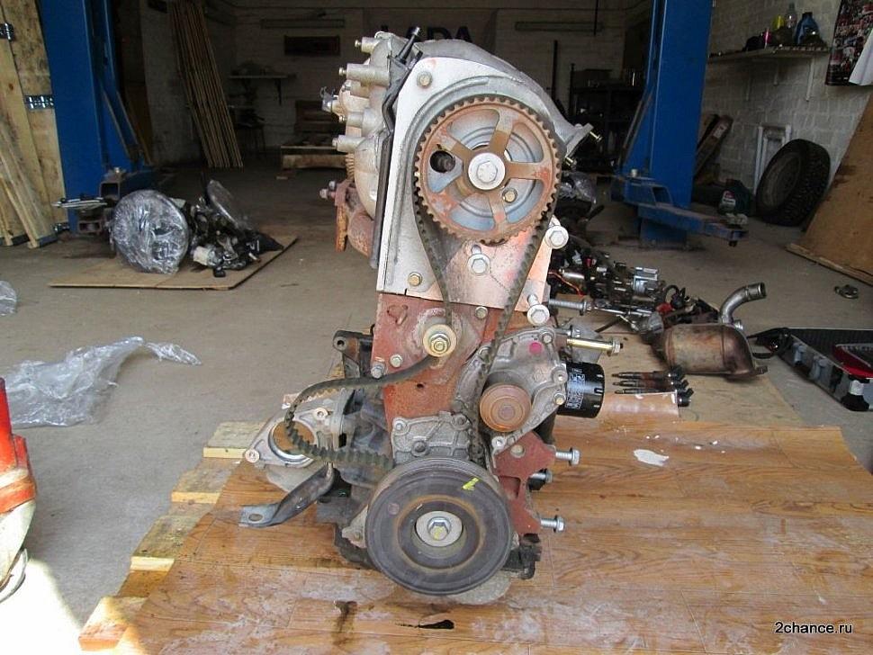 Двигатель F9Q 1,9 литра дизель